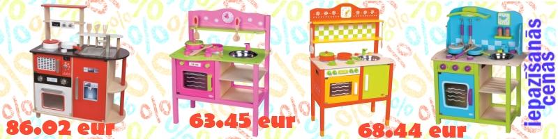 Virtuves Lelin iepazīšanās cenas