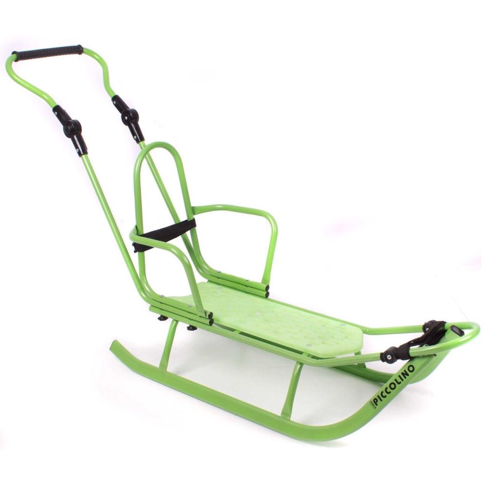 Bērnu ragavas ar izturīgo rāmi Piccolino Standard Green Piccolino Standard G