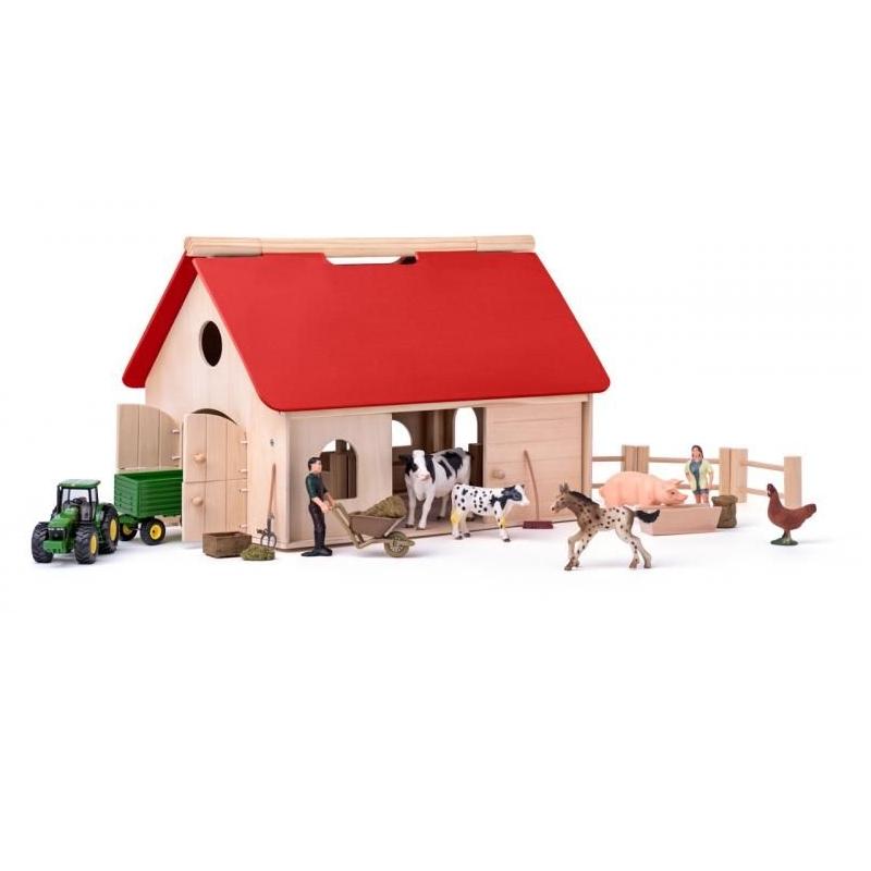 Lauku ferma Woody un Siku mašīna WD90260
