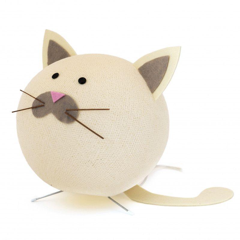 Galda lampa Kaķis handmade Cobo CAT-TAV