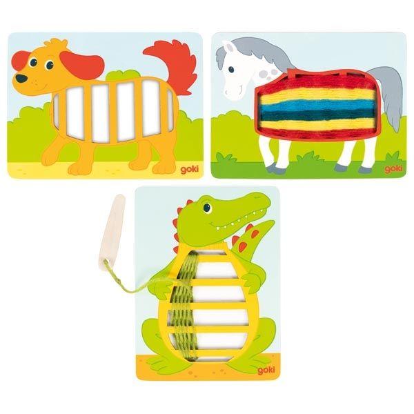 Veramā rotaļlieta Dzīvnieki Goki 58679