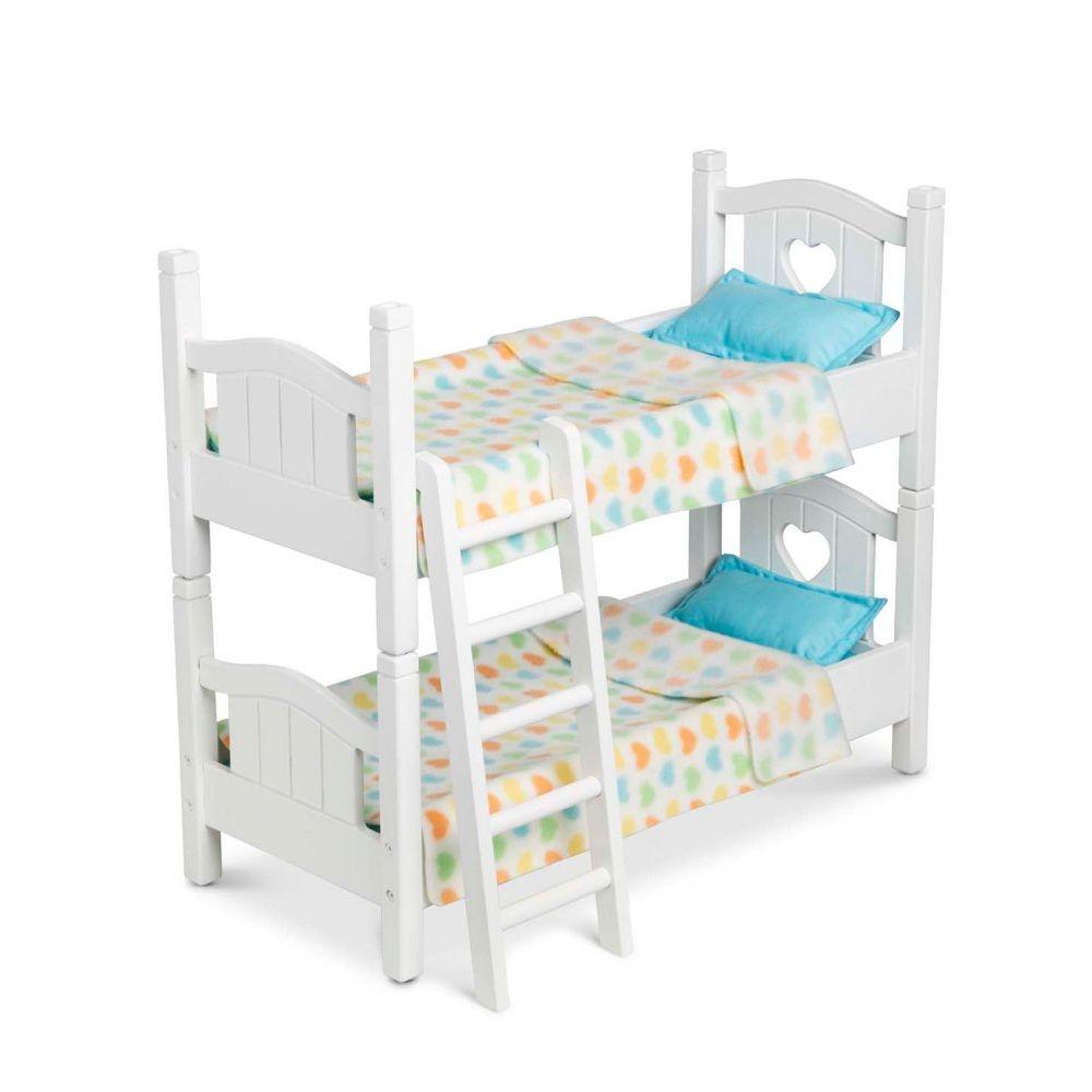 Divstāvu gulta lellēm Melissa and Doug 41721