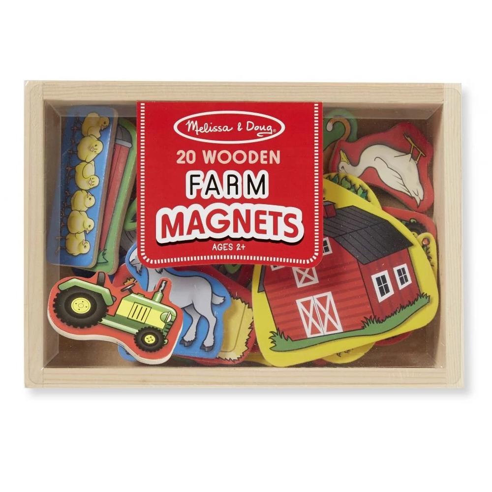 Koka magnēti Dzīvnieki Farm Melissa and Doug 19279