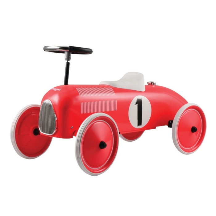 Mašīna Ride-On Classic Racer Red Magni MG2811