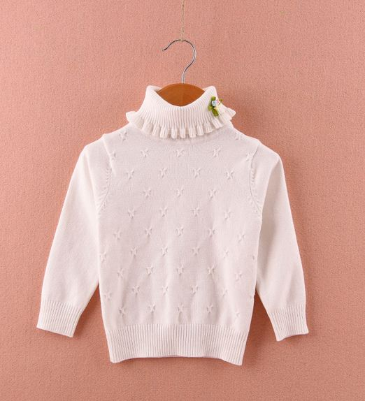 Džemperis ar augstu apkakli  0