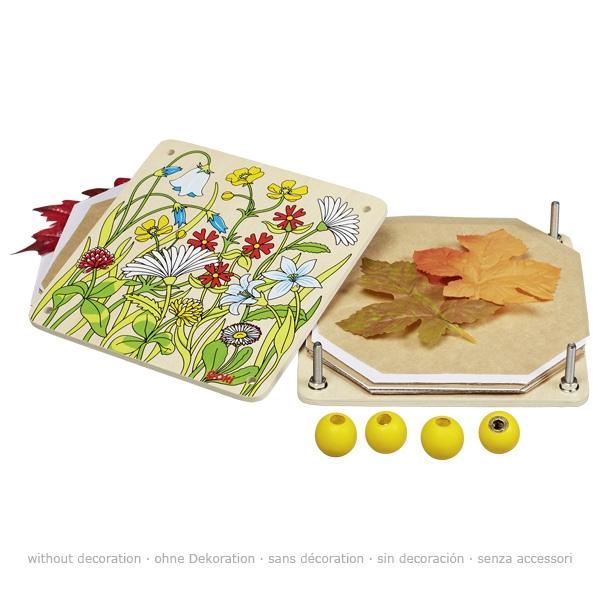 Ziedu un lapu prese Goki 58603