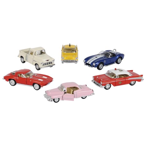 Retro mašīnu kolekcija Goki, 6 gab. 12240