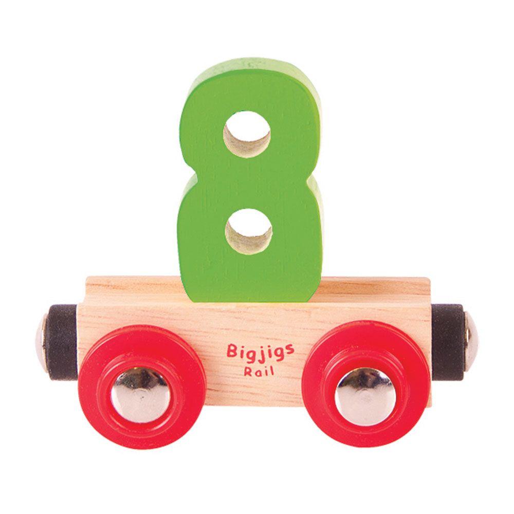 Vagons Cipars 8 BIGJIGS BR138