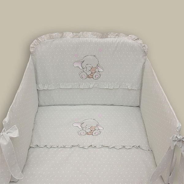 Apmalīte bērnu gultiņai