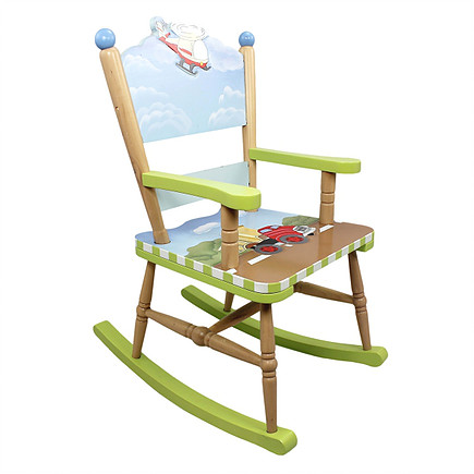 Šūpuļkrēsls Fantasy Fields, handmade W-9943A