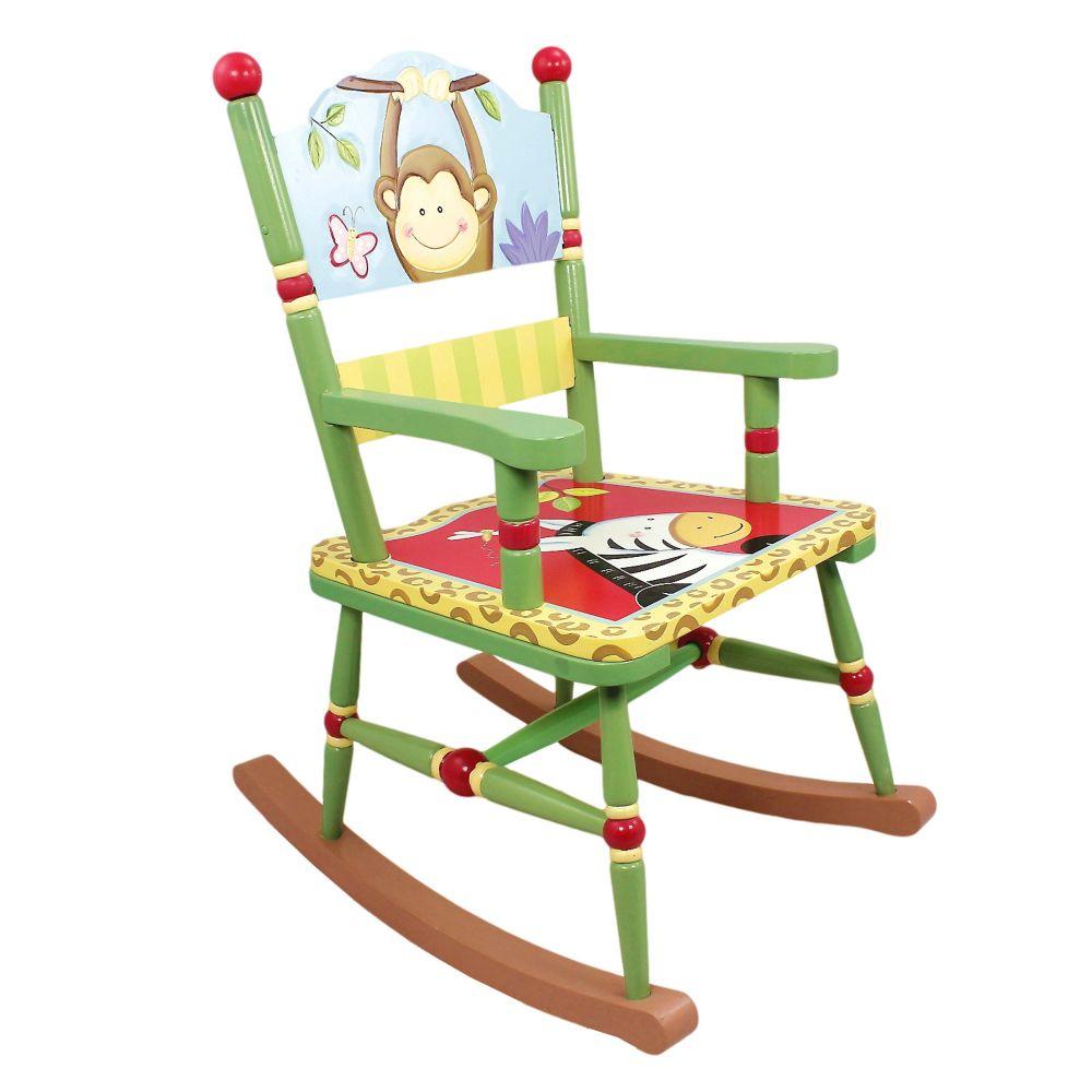 Šūpuļkrēsls Fantasy Fields, handmade W-8266A
