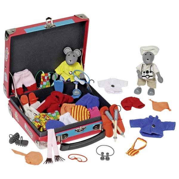 Peles ar apģērbu komplektiem Goki 51764