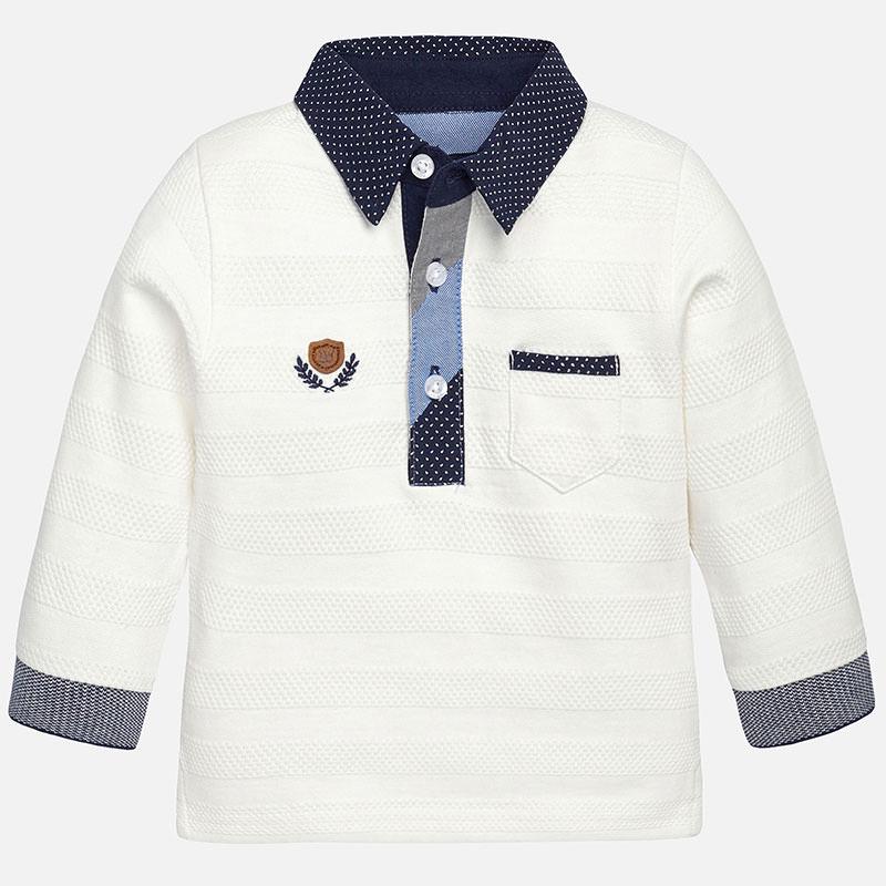 Krekls - Polo ar garām piedurknēm Mayoral 2112