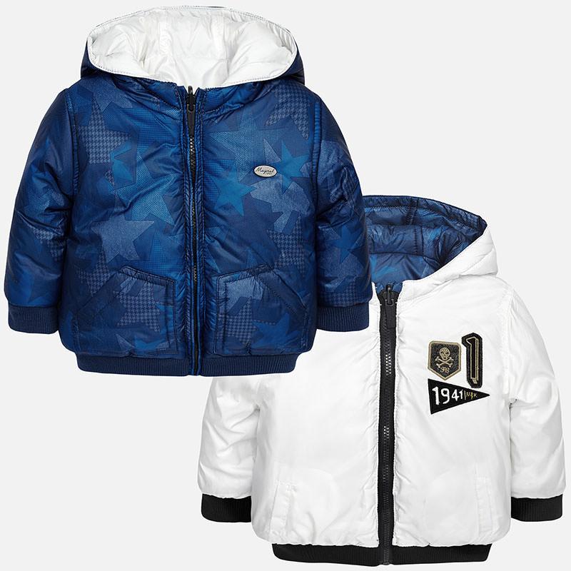 Abpusējā jaka ar kapuci Mayoral 2492