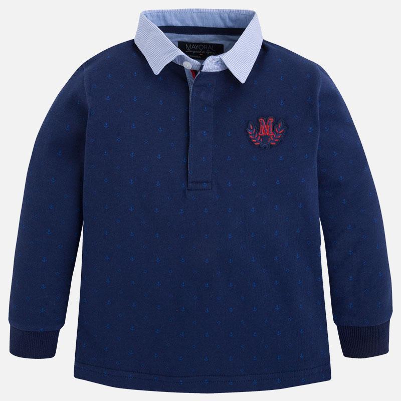 Krekls - Polo ar garām piedurknēm Mayoral 4102