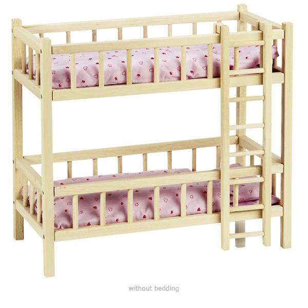 Divstāvu gulta lellēm Goki RA206