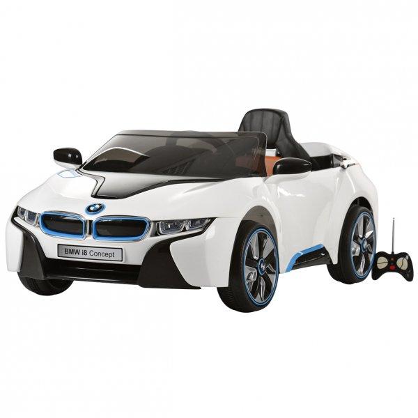 Elektromobilis ar tālvadības pulti BMW I8 ST-JE-168-BIAŁY
