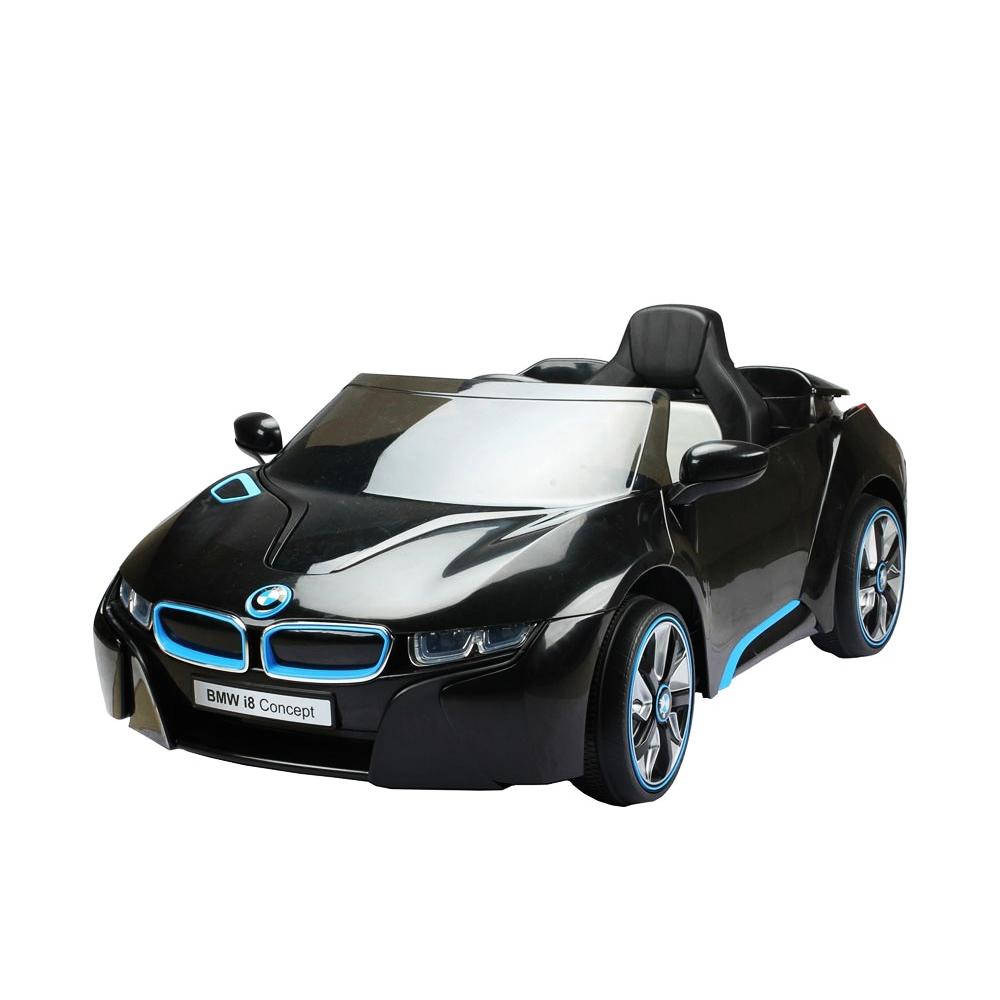 Elektromobilis ar tālvadības pulti BMW I8 ST-JE-168-CZARNY