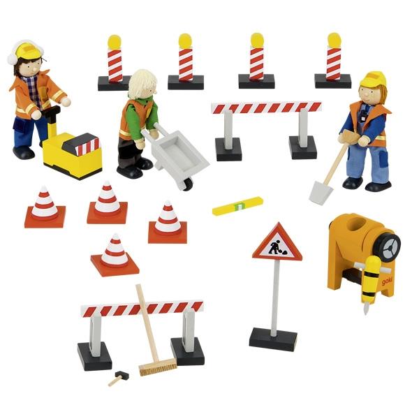 Ceļu darbinieki ar atribūtiku Goki 51708