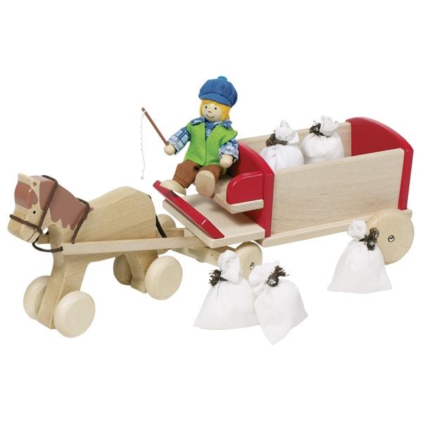 Zirgs ar ratiem