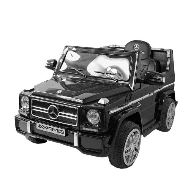 Elektromobilis ar tālvadības pulti MERCEDES G65 LS-528-CZARNY-PL