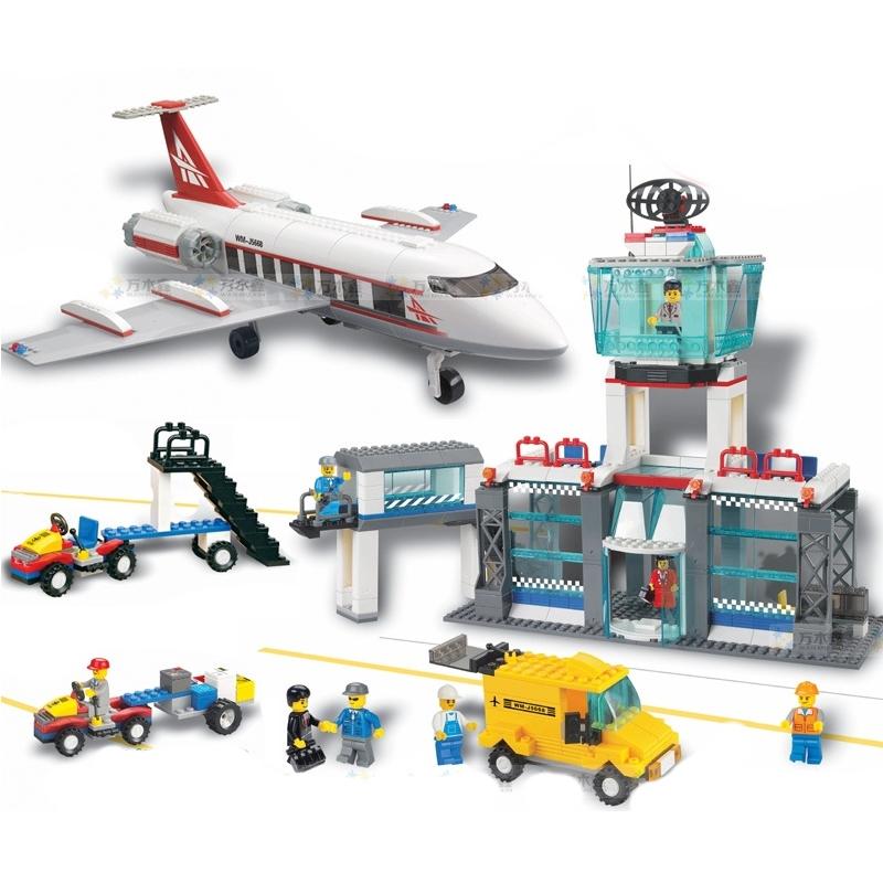 Konstruktors Airport JUBILUX, 791 detaļas J5668A