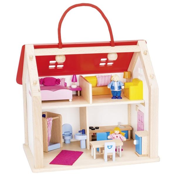 Leļļu māja - koferis Goki 51780