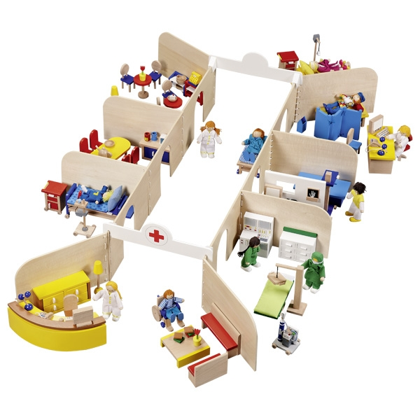 Slimnīca ar aprīkojumu Goki 51779