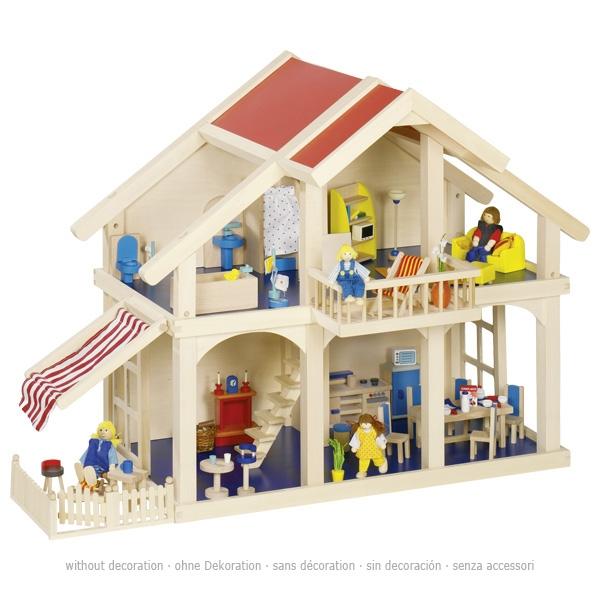 Leļļu māja ar pagalmu Goki 51893