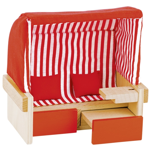 Leļļu pludmales krēsls Goki 51659