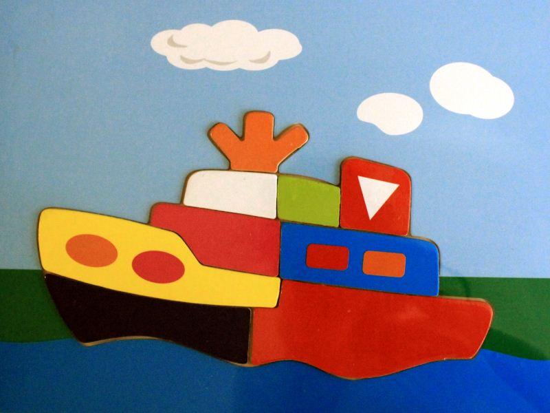 ETNA Koka puzzle, kuģis 0