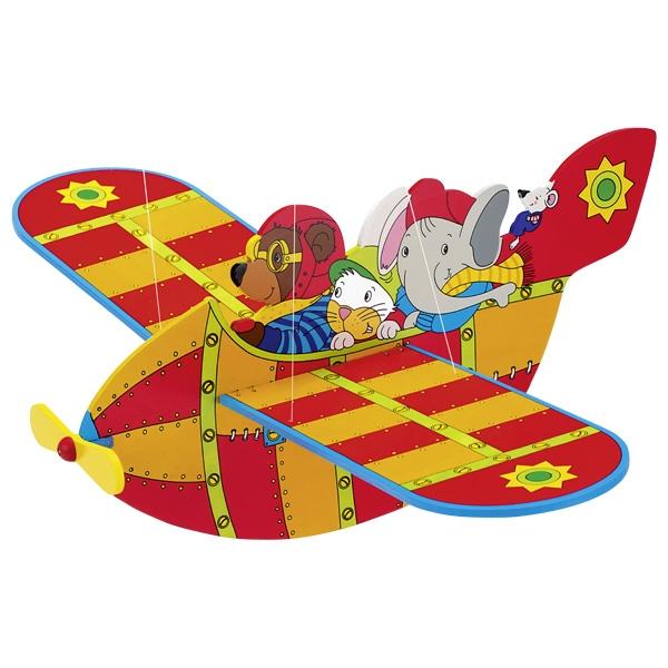 Piekaramā rotaļlieta – lidmašīna Goki GK128