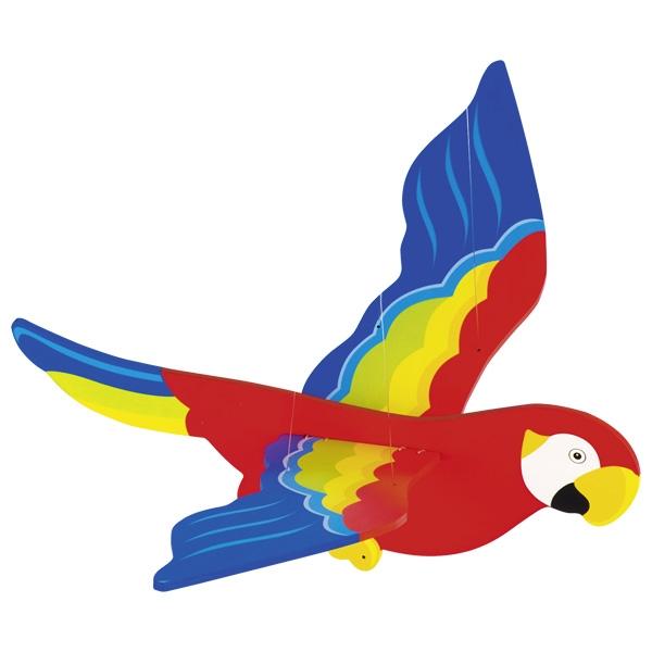 Piekaramā rotaļlieta – papagailis Goki GK452