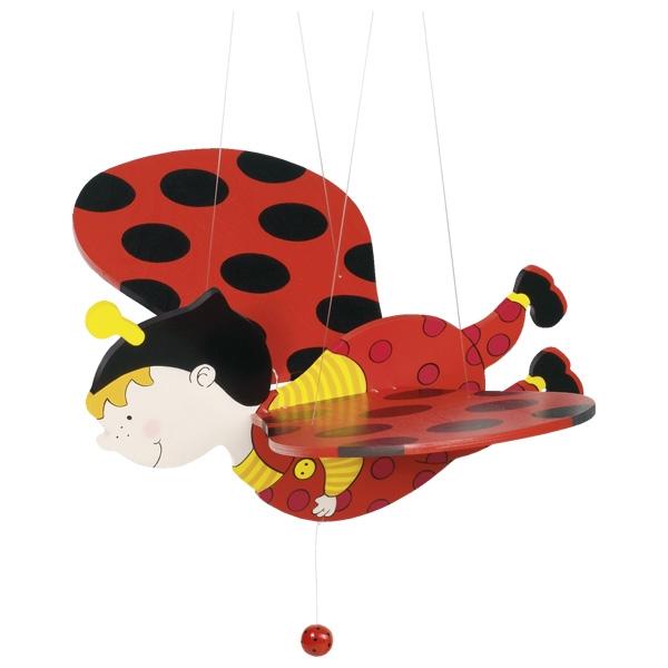 Piekaramā rotaļlieta – mārīte Goki 52959