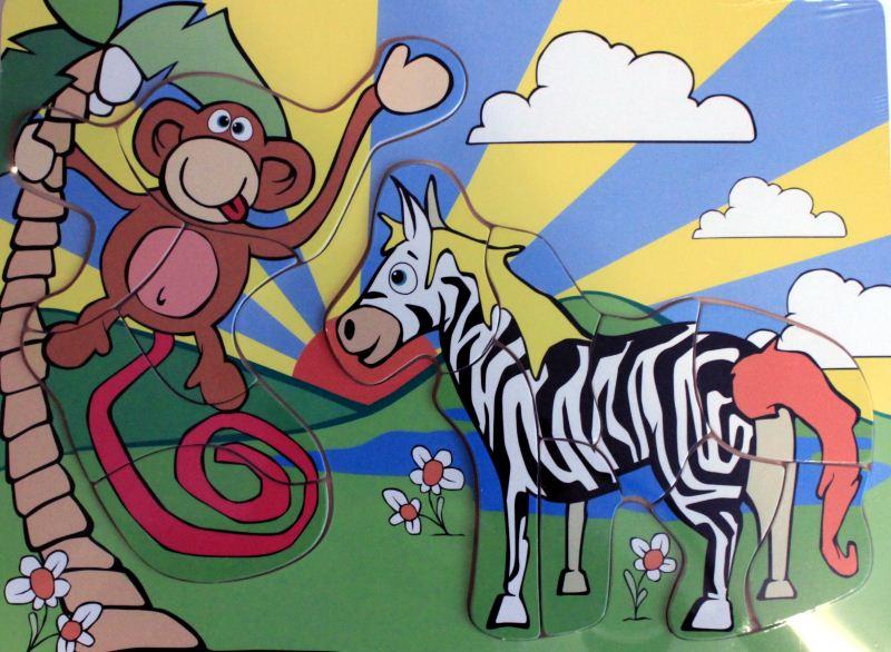 ETNA Koka puzzle, zebra 0