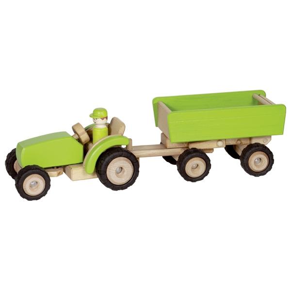 Traktors ar piekabi Goki 55941