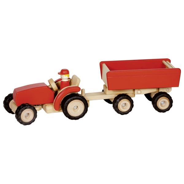 Traktors ar piekabi Goki 55942