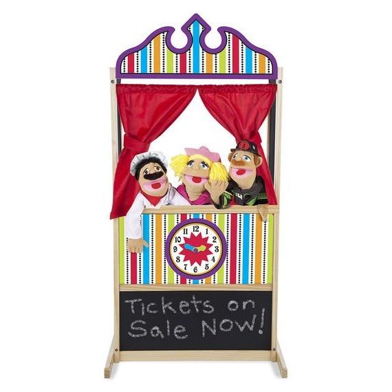 Skatuve lelļu teatrim Melissa & Doug 12530
