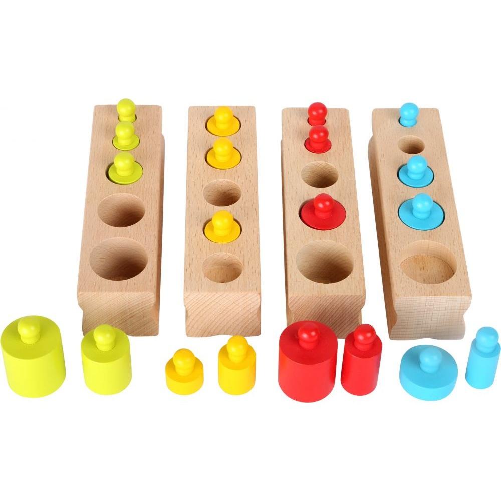 Cilindru bloki Montessori Small foot 10525