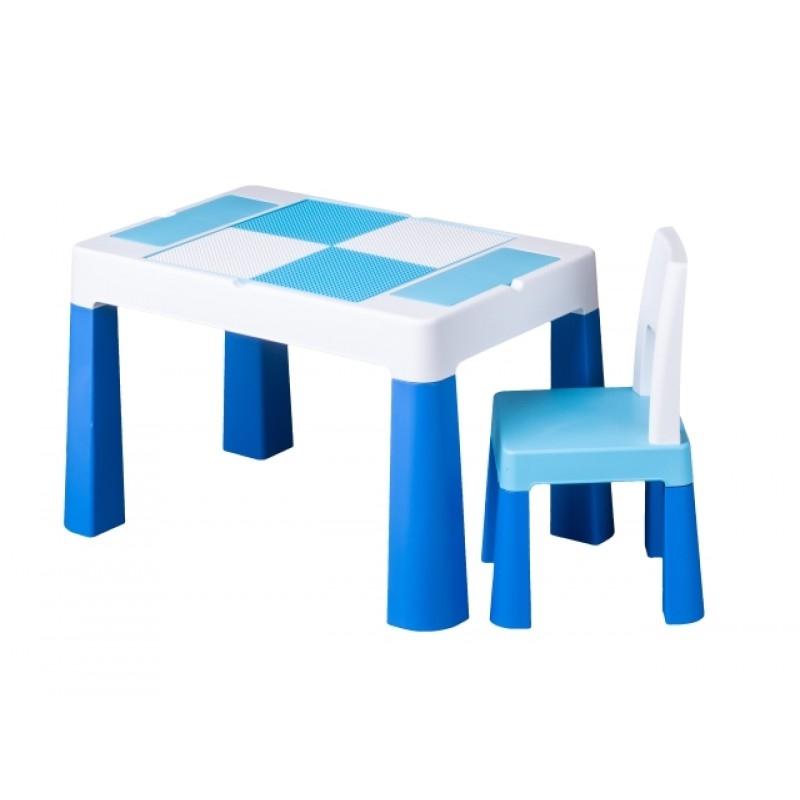 Rotaļu galds ar krēslu MULTIFUN TegaBaby TEGA-MF001.BLUE