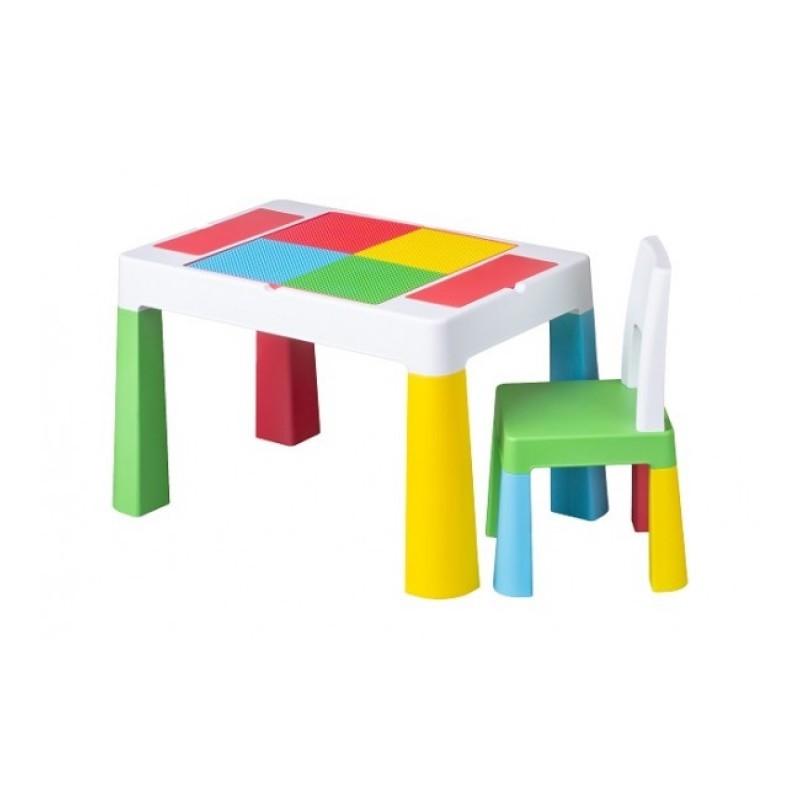Rotaļu galds ar krēslu MULTIFUN TegaBaby TEGA-MF001.MULTI