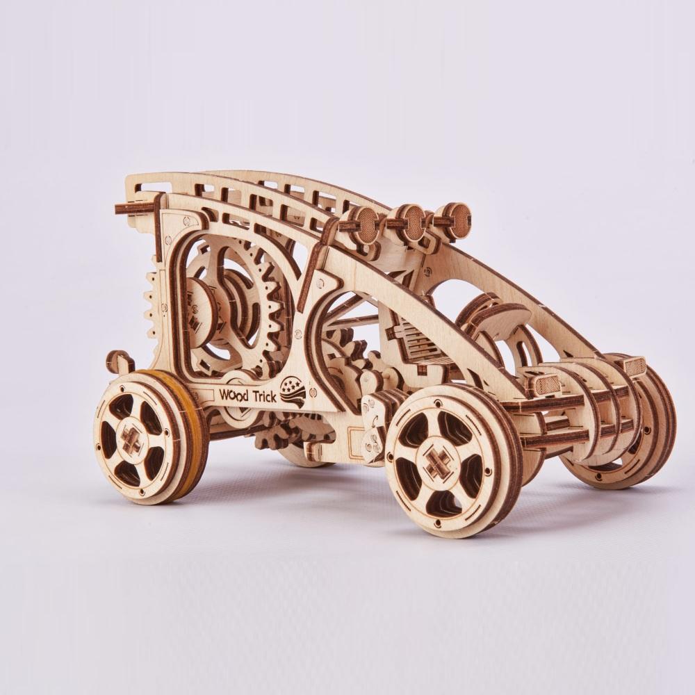 Mehāniskais 3D puzzle Automašīna Wood Trick WT004