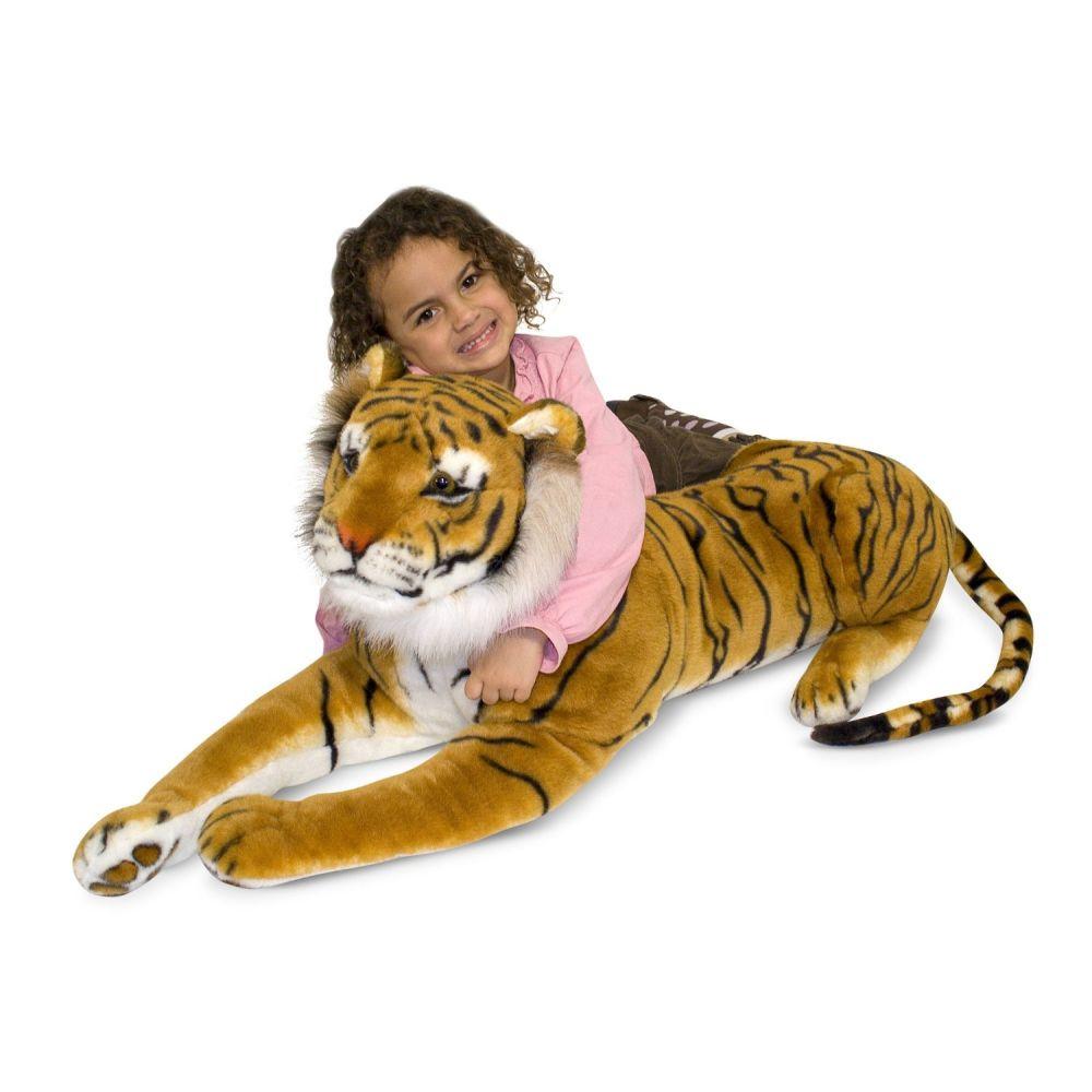 Augstvērtīga mīksta plīša rotaļlieta Tīģeris Melissa and Doug 12103
