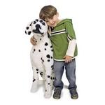Augstvērtīga mīksta plīša rotaļlieta Suns Dalmācietis Mellisa and Doug 12110