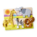 Koka puzle mazuļiem Safari Melissa and Doug 11892