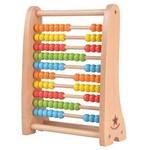 Bērnu koka skaitāmie kauliņi Abacus Lelin L10272