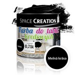 Grifeļa krāsa (melna) 0,75L Space Creation N3108