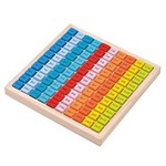 Таблица умножения - цветные кубики Lelin L10279