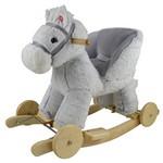 Лошадка-качалка с колесами GS6103W-1