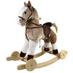 Лошадка-качалка с колесиками Mustang GS2057W